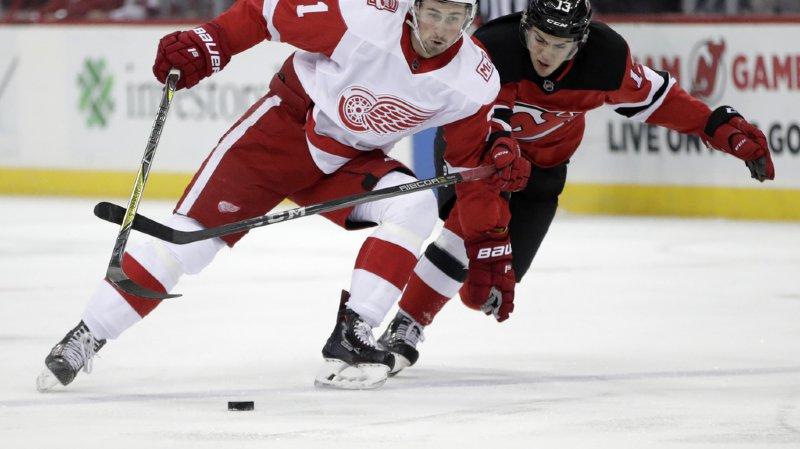Hockey: Nico Hischier et les New Jersey Devils disputeront un match en Suisse