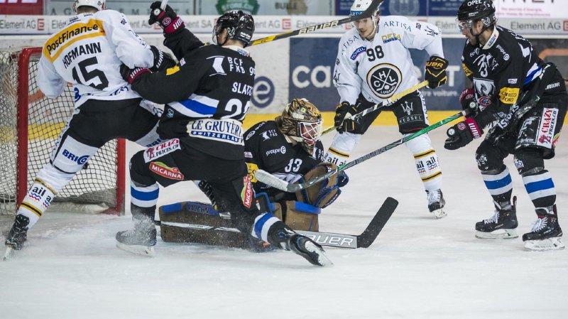 Hockey: Fribourg Gottéron s'impose 3-2 face à Lugano