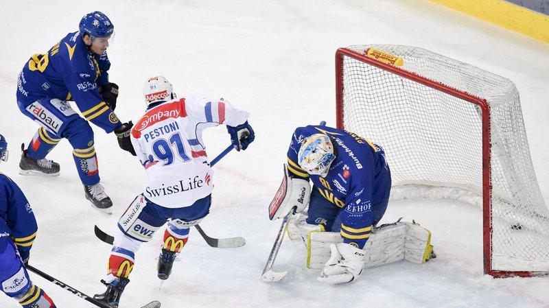 Les Zurich Lions ont concédé leur troisième défaite de rang en National League face au HC Davos.