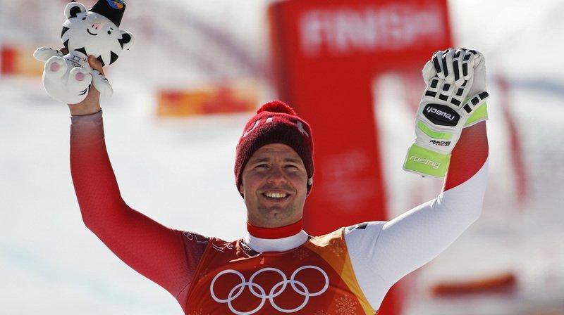 JO 2018: Ski alpin - Beat Feuz en bronze derrière Svindal et Jansrud