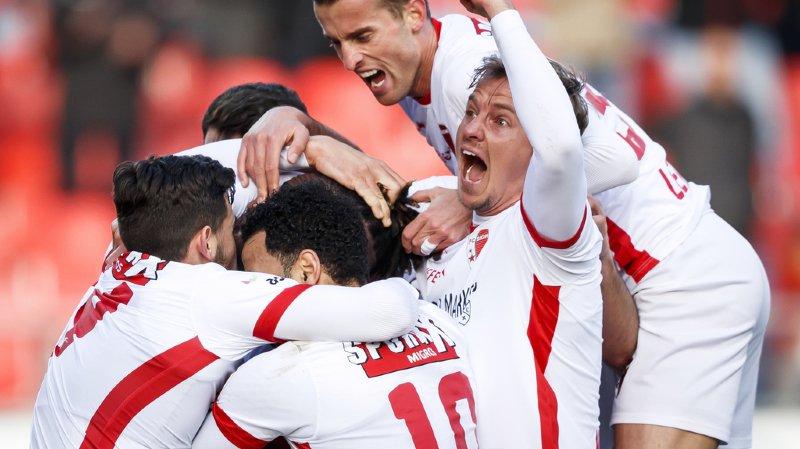 Football: Sion remporte le derby en battant le Lausanne-Sport 3-1