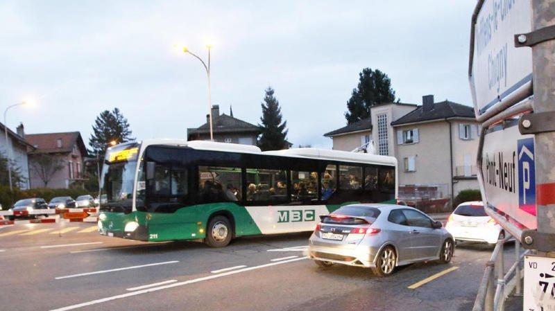 A Morges, l'utilisation des transports publics est en hausse