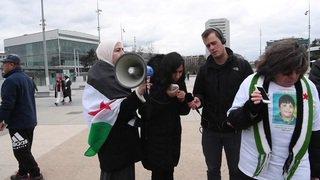 Syrie: Une soixantaine de personnes contre l'indifférence