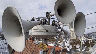 Région: les sirènes sont testées ce mercredi