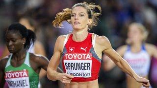 Lea Sprunger s'impose sur 400m à Karlsruhe