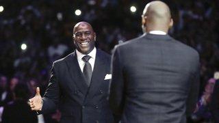 Basketball: une amende de 50'000 dollars contre Magic Johnson pour avoir complimenté un adversaire