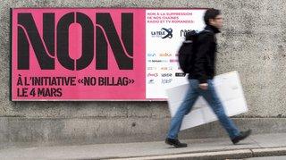 "Rejet de ""No Billag"": les votants ont craint la disparition de la SSR"