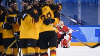 Les hockeyeurs suisses tombent de haut
