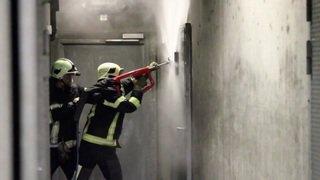 La lance-cobra des pompiers du SDIS Nyon-Dôle