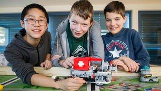 Des élèves de Begnins créent un robot qui cartonne