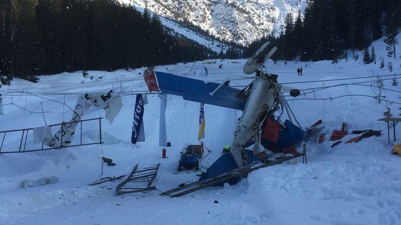 Grisons: le crash d'un petit avion à Arosa fait 2 morts