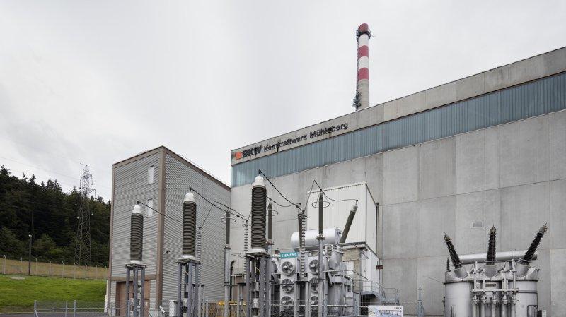 Problème technique à la centrale de Mühleberg: un réacteur arrêté d'urgence