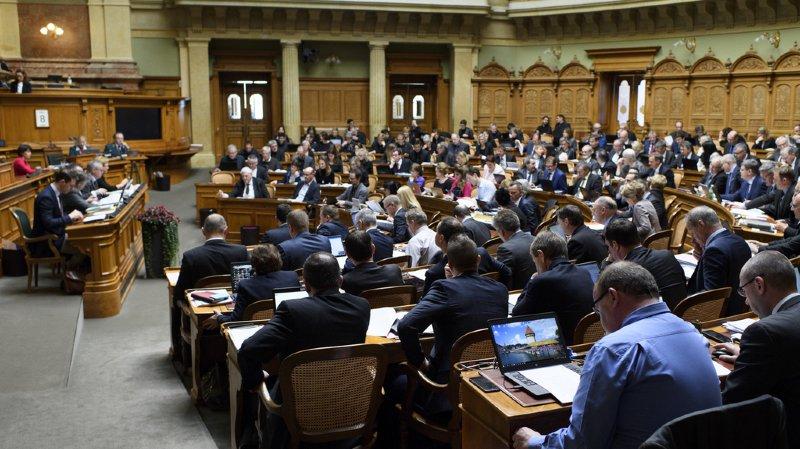 Berne: deux nouveaux élus font leur apparition au Conseil national