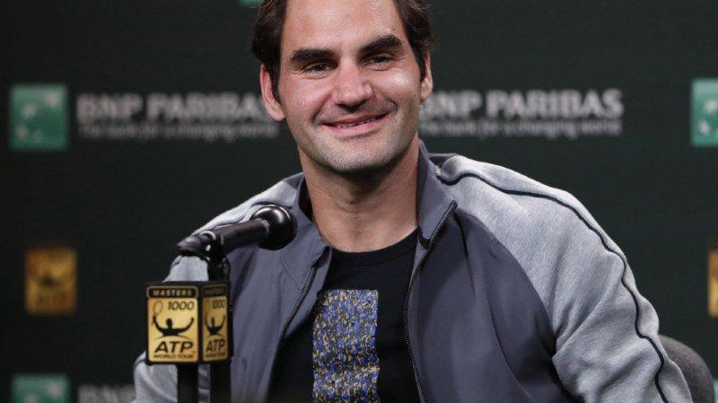 Tennis: Federer affrontera Delbonis au tournoi d'Indian Wells