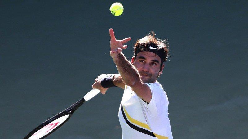 Indian Wells: Roger Federer se qualifie pour les 16es de finale en 2 jours