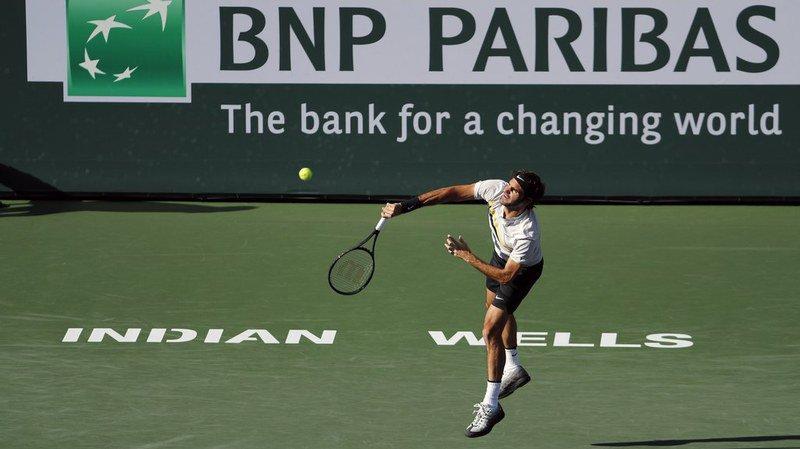 Tennis - Indian Wells: un 60e succès pour Federer qui se hisse en quart de finale