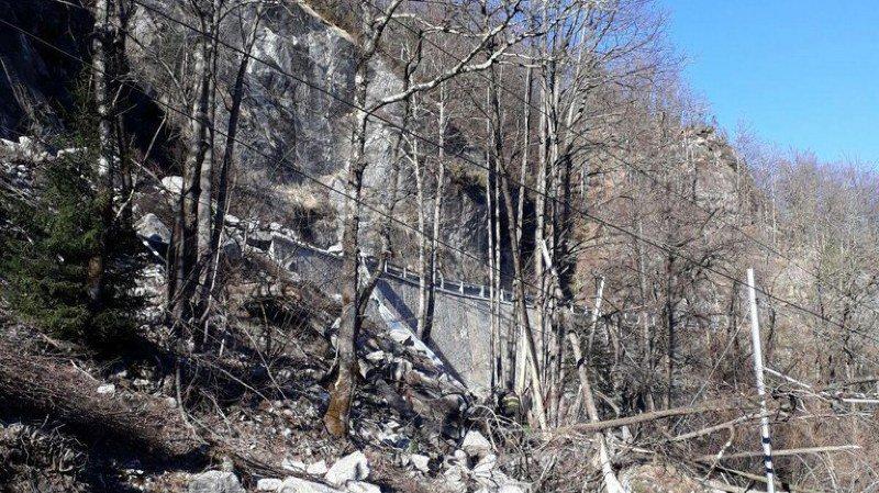Drame: deux Suisses décèdent dans un éboulement en Italie près de la frontière tessinoise