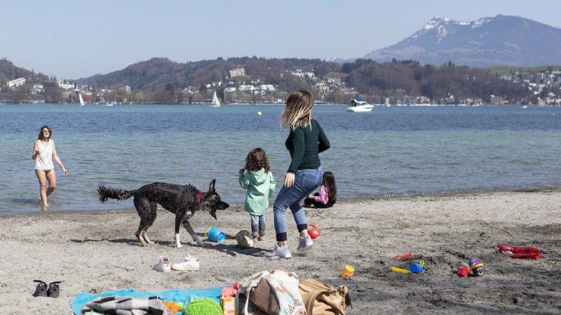 Météo: les Suisses ont pu profiter d'un week-end estival