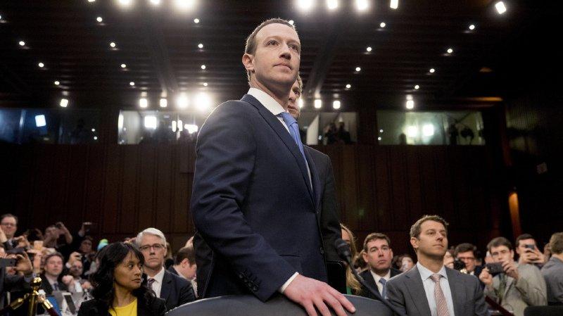 Données Facebook piratées: Mark Zuckerberg présente ses excuses devant le Sénat américain