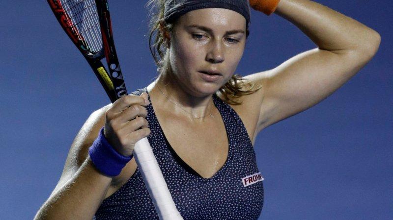 Stefanie Vögele gagne 56 places