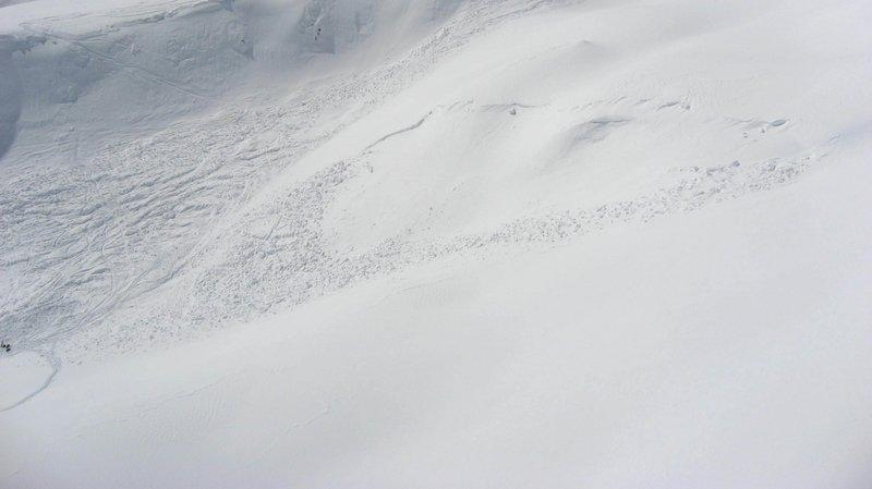 L'avalanche est survenue sur une piste fermée.
