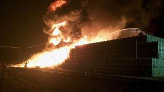 Le feu qui a détruit l'entrepôt de fruits à Egnach (TG) est d'origine criminelle