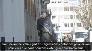 La police zurichoise a testé des bodycams pour réduire le nombre d'agressions