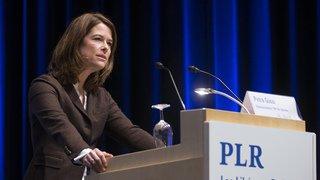 Le PLR veut devenir le deuxième parti de Suisse en 2019