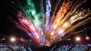 Jeux Paralympiques 2018: la flamme des JO s'est rallumée à PyeongChang