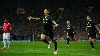 Ligue des champions: Séville élimine un Manchester United sans âme et l'AS Rome défait le Shaktar