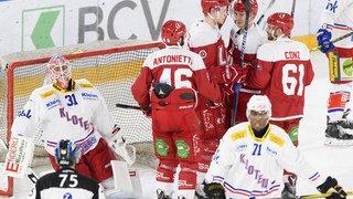 Hockey: Lausanne assure sa place en National League, Kloten et Ambri-Piotta en play-out