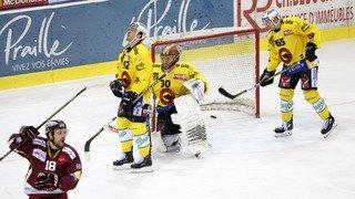 Hockey - National League: Fribourg battu par Lugano, Genève-Servette obtient le sursis face à Berne