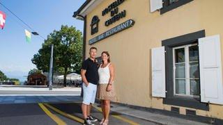 Rolle: Eddy Robin et son épouse Nicoline Anjema Robin  ont remis le Café vaudois