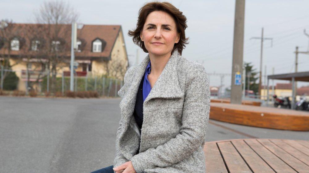 Sandrine Goettmann, organisatrice du marché du mercredi sur la place de la gare à Gland, a lancé un concours amateur de la meilleure confiture.