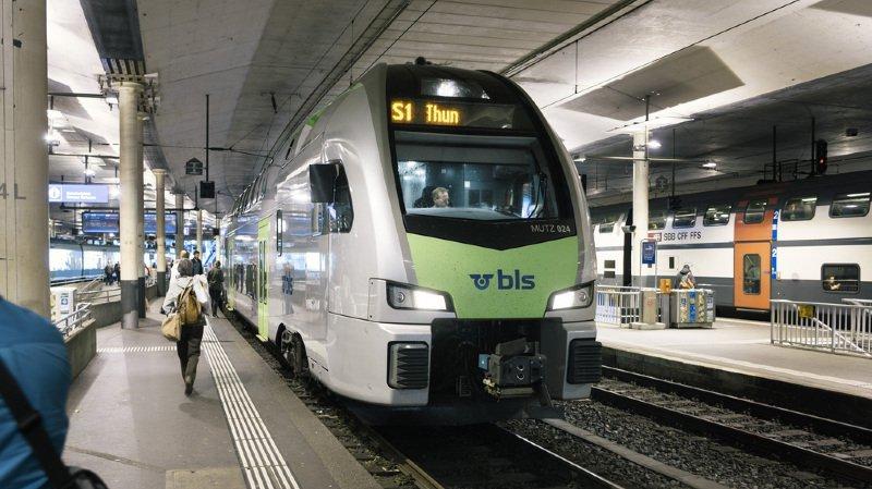 Perte du monopole des CFF: BLS devrait reprendre Berne-Bienne et Berne-Berthoud-Olten
