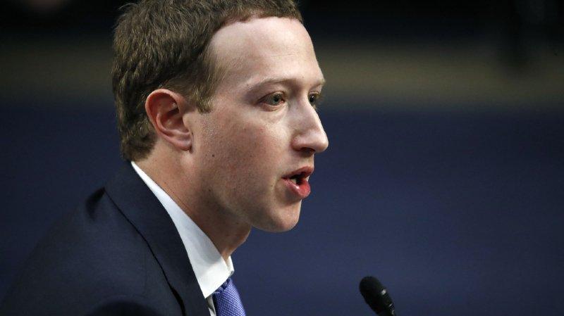 Facebook: Zuckerberg s'expliquera à Bruxelles et en direct sur la toile
