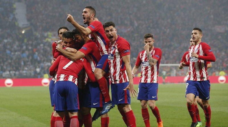 Football: l'Atlético Madrid gagne la finale de l'Europa League face à l'OM