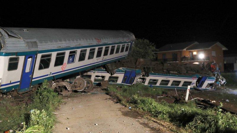Italie: deux morts et 18 blessés dans un accident de train près de Turin