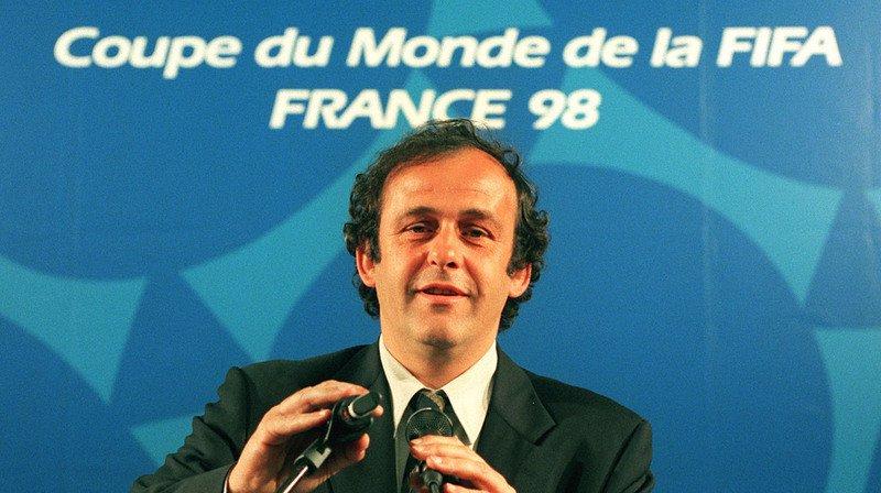 """Football: Michel Platini admet une """"petite magouille"""" administrative pour que la France rencontre le Brésil en finale en 1998"""
