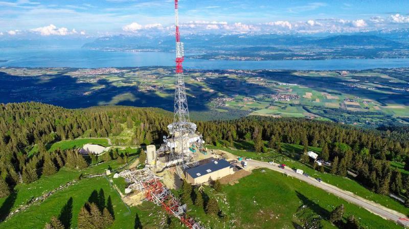 Dynamitage à la Barillette: 8 kilos pour abattre les 97 tonnes de l'émetteur