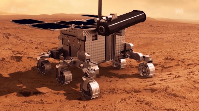Espace: la caméra bernoise CaSSIS livre ses premières photos couleurs de Mars