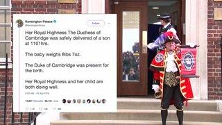 It's a boy: la duchesse Kate a donné naissance à un garçon