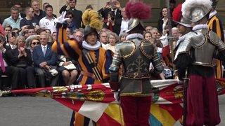 Vatican: 32 nouveaux gardes prêtent serment