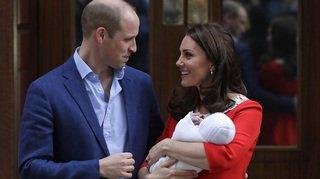 Le dernier enfant de Kate et William s'appelle Louis Arthur Charles