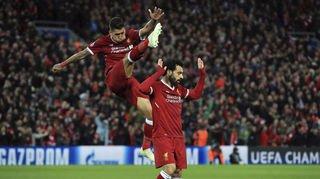 Football - Ligue des champions: Salah, Firmino et Mané déclassent l'AS Rome, battue 5-2 à Liverpool