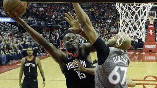 50 points en 12': les Rockets en feu