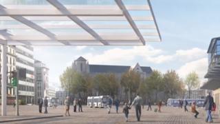 Genève: à la gare Cornavin, le piéton sera roi