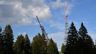 Le dynamitage de l'émetteur de la Barillette en images