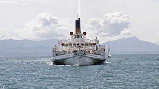 La flotte Belle Epoque de la CGN paradera à Evian
