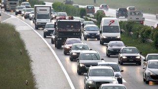 Nyon-Coppet: la troisième voie de l'autoroute en approche